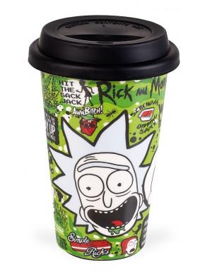 Taza de Viaje Frases Rick y Morty