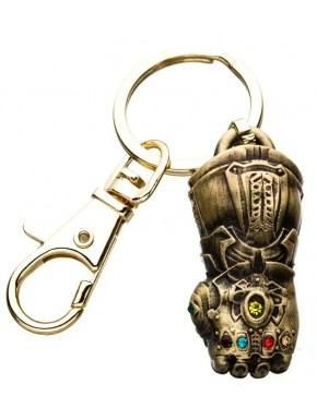 Llavero 3D Metal Guantelete del Infinito Thanos Marvel