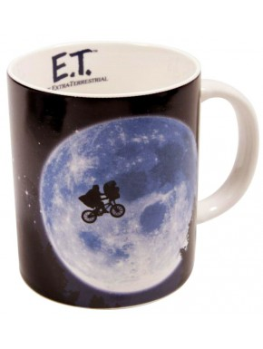 Taza E.T. El Extraterrestre Across The Moon
