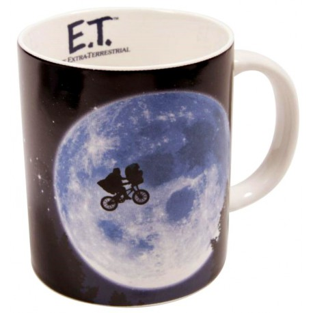 Taza E.T. El Extraterrestre Across The Moon