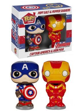 Funko Pop!  Salero pimentero Avengers