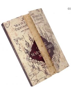 Libreta Premium Harry Potter Mapa del Merodeador