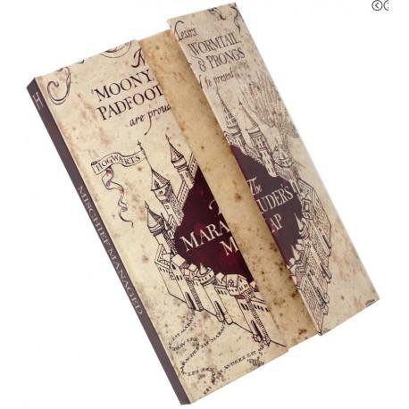 Libreta Harry Potter Mapa Merodeador Solo 2150 Lafrikileriacom