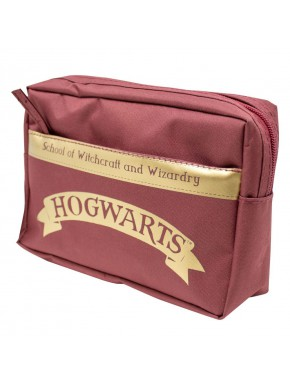 Estuche Neceser Harry Potter Hogwarts Gold