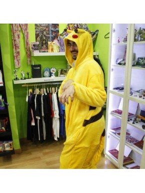 Pijama Cosplay Pokemon Pikachu adulto