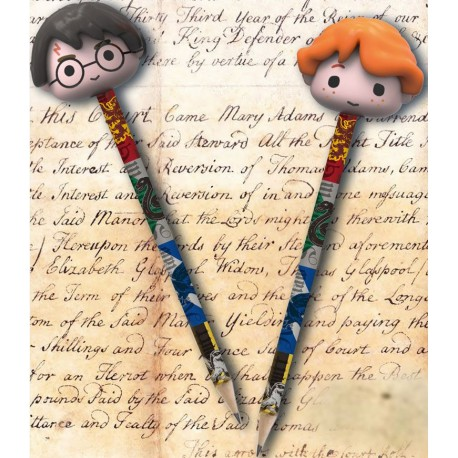 Set de 2 lápiz Harry y Ron Harry Potter