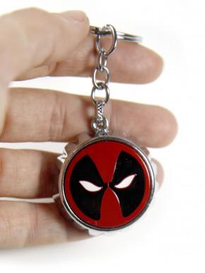 Llavero metálico con abrebotellas Deadpool