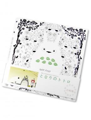 Cuaderno para colorear Totoro