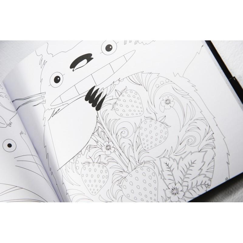 Cuaderno para colorear Totoro por solo 17.50 € - lafrikileria.com