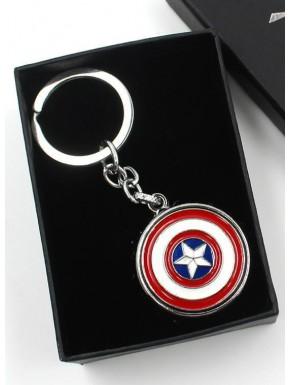 Llavero metálico con abrebotellas Capitán América
