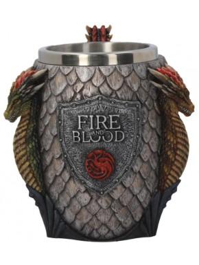 Jarra Deluxe Juego de Tronos Targaryen Emblema