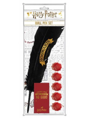 Bolígrafo Pluma Harry Potter Hogwarts