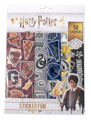 Set pegatinas Harry Potter Casas Hogwarts