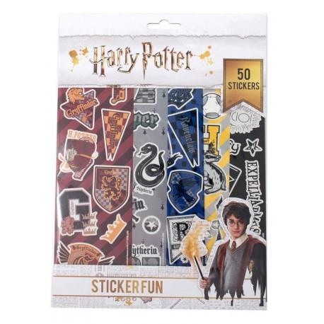 Set pegatinas Harry Potter Casas Hogwarts