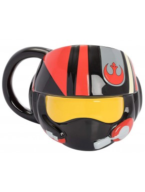 Taza 3D Piloto Rebelde Star Wars