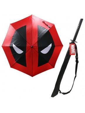 Paraguas Katana Deadpool Marvel