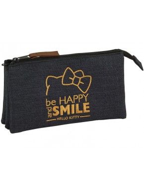 Estuche Hello Kitty Smile Triple