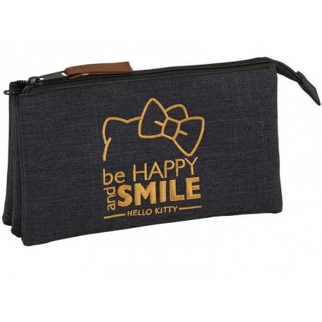 Estuche Hello Kitty Smile Triple