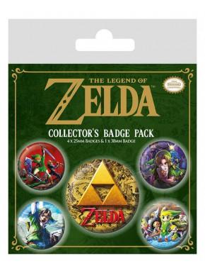 Pack de Chapas Zelda Classic