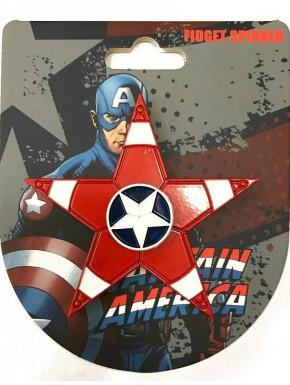 Spinner Capitán América Marvel