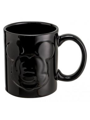 Taza Minnie Mouse Relieve Negra