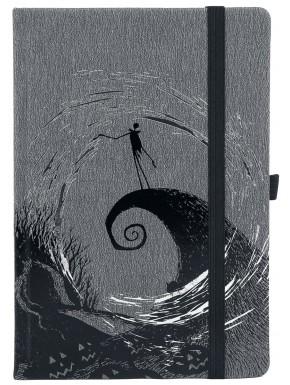 Libreta Premium A5 Pesadilla antes de Navidad Moonlight Madness
