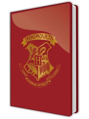 Libreta Premium A5 Harry Potter Hogwarts Crest