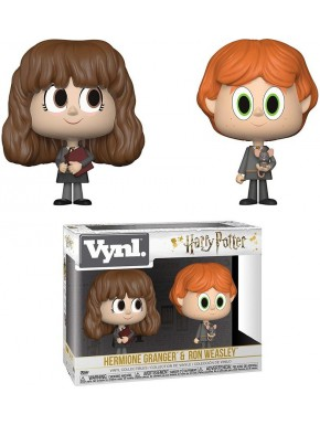 Set Figuras Ron y Hermione Harry Potter Funko VYNL
