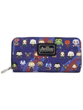 Cartera Avengers Marvel Kawaii Loungefly