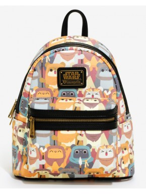 Bolso Mochila Star Wars Ewok Kawaii Loungefly