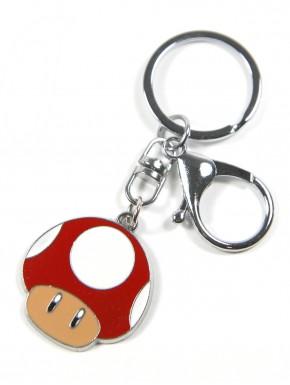 Llavero Super Mario mushroom