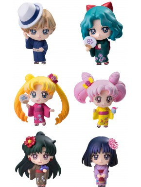 Figura Sorpresa Sailor Moon Petit Chara Soldiers of the Outar Solar System