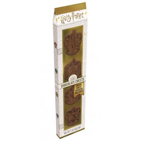 Set de Escudos de Chocolate Hogwarts Casas Harry Potter