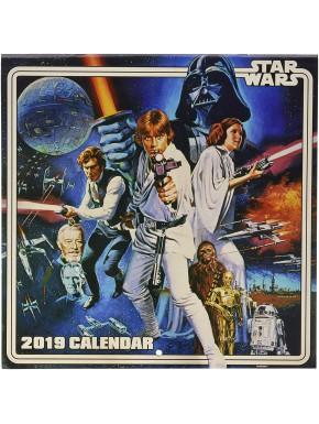 Calendario pared 2019 Star Wars Vintage