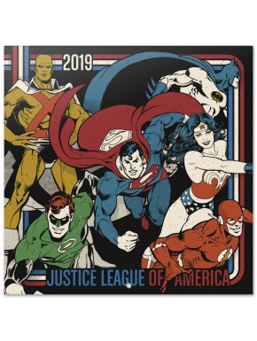Calendario pared 2019 DC Comics Vintage