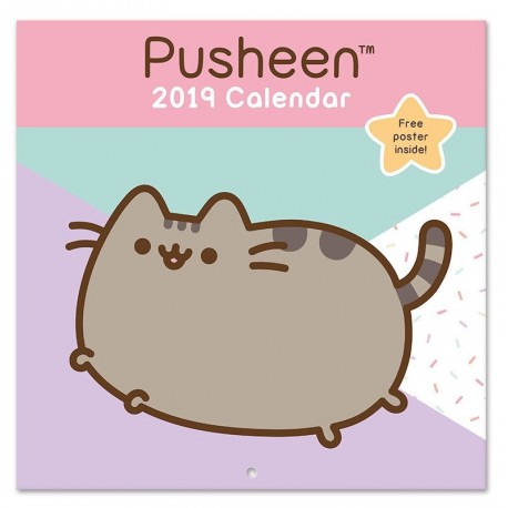Calendario pared 2019 Pusheen Cat