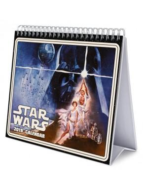 Calendario mesa Star Wars 2019