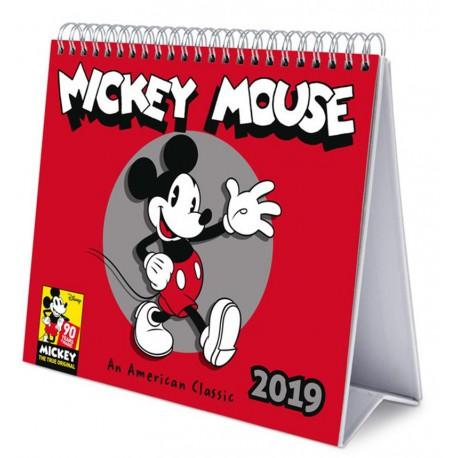 Calendario 2019 Disney Para Imprimir.Calendario Mesa 2019 Mickey Mouse Solo 11 90 Lafrikileria Com
