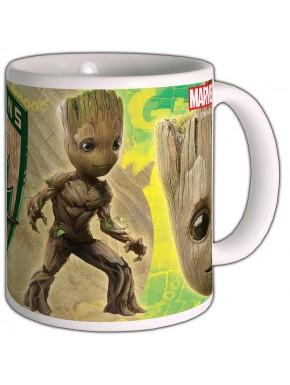 Taza Groot Guardianes de la Galaxia 2 Escudo