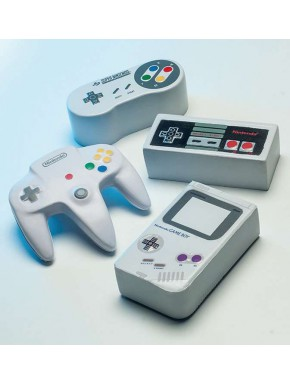 Bolas Antiestrés Nintendo Mando Consola
