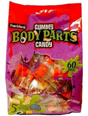 Gominolas Cuerpos Cortados Halloween