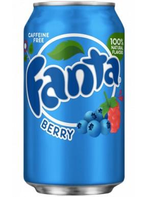 Fanta Berry Sabor Arándanos y Frambuesa Refresco 355 ml