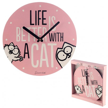 Reloj de Pared Simon's Cat