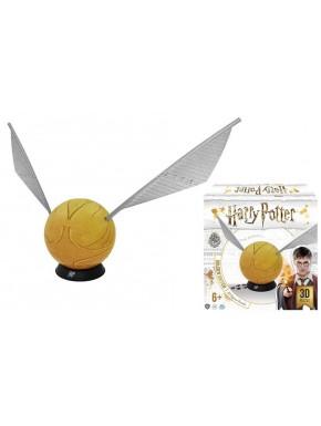 Puzzle 3D Harry Potter Snicht Dorada 15 cm