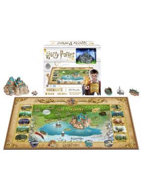Puzzle 4D Harry Potter Hogwarts 500 piezas