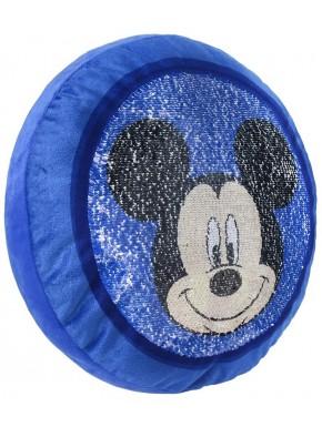 Cojín Mickey Mouse Disney Lentejuelas