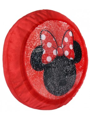 Cojín Minnie Mouse Disney Lentejuelas