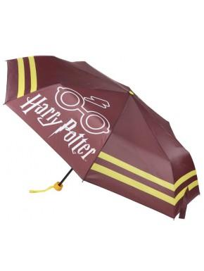Paraguas Plegable Harry Potter Granate