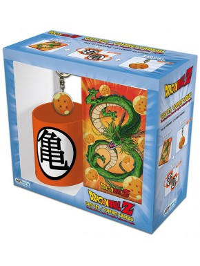 Pack regalo Dragon Ball Taza + Llavero + Libreta