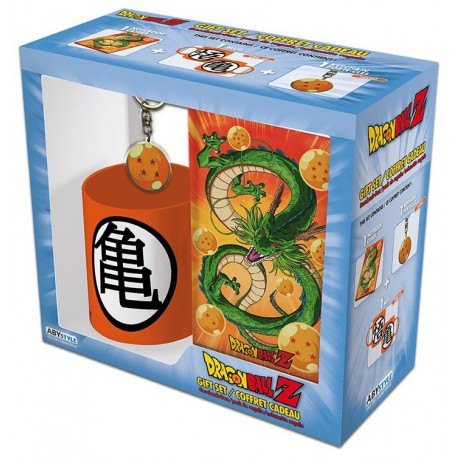 Pack regalo Dragon Ball Taza + Llavero + Libreta